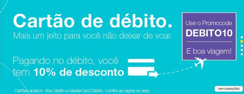 Azul Cartão de débito