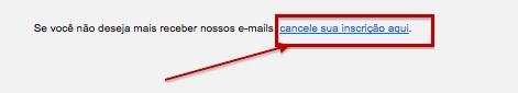 Cancelamento de inscrição 1