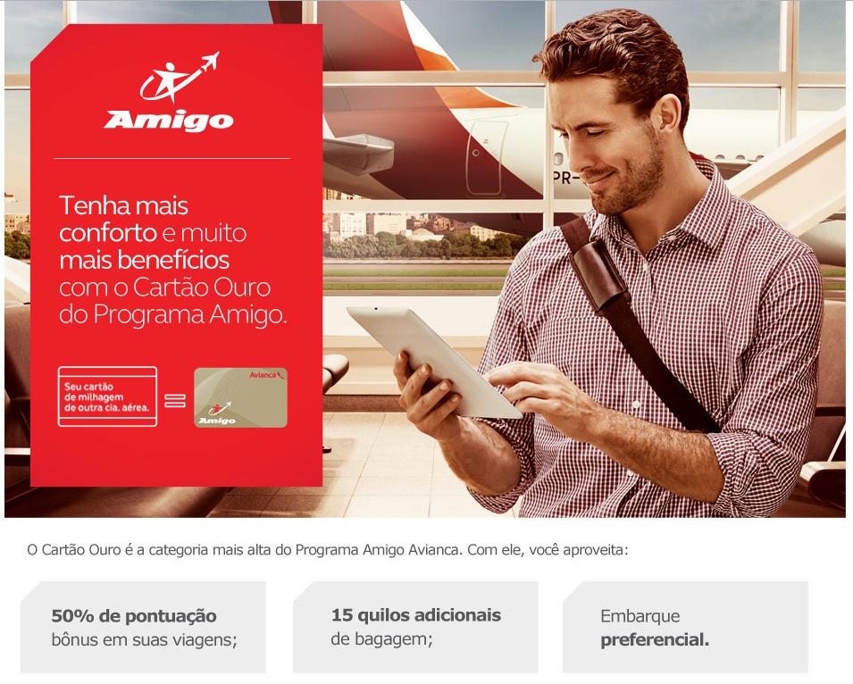 Avianca oferece Cartão Ouro para quem tem status elite em outra empresa aérea
