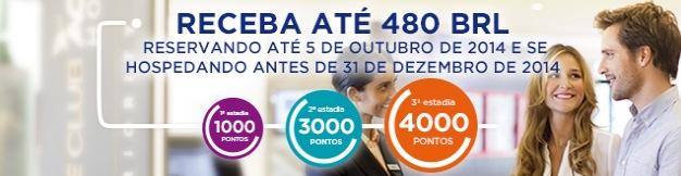 Promoção da Accor Le Club oferece até R$ 480 em pontos