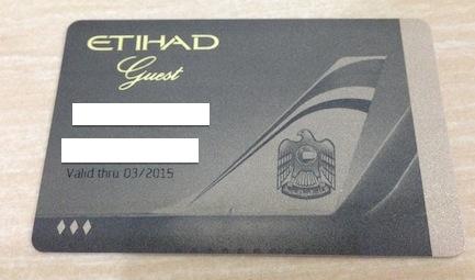 Etihad Guest Gold