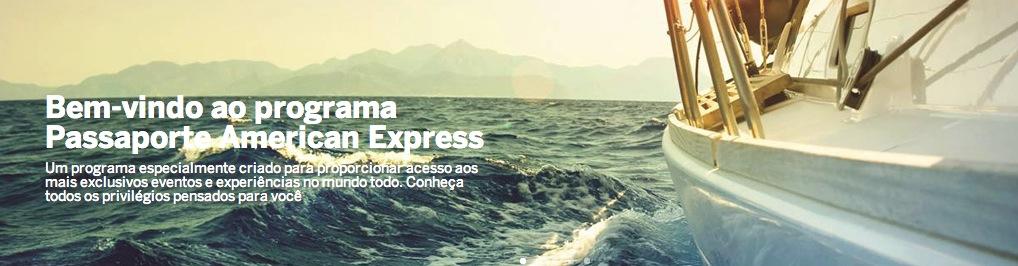 Passaporte Amex