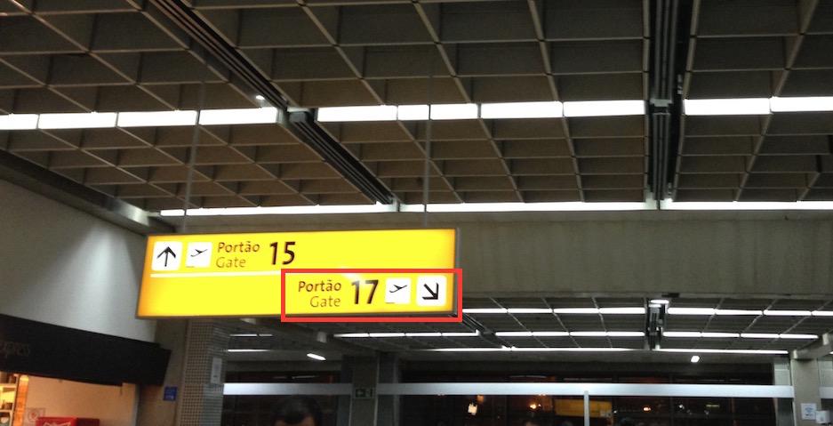 O famigerado Portão 17 do Aeroporto de Guarulhos