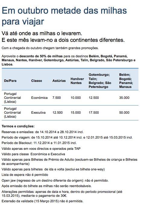 Victoria TAP lança promoção de voos de Belém e Manaus para a Europa por metade das milhas