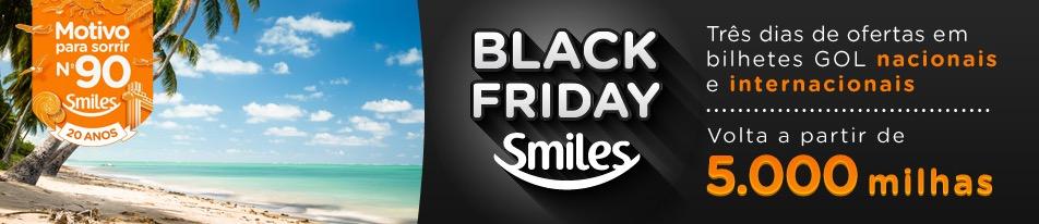 Black Friday Smiles tem passagens de volta por 5.000 milhas… para voar entre 2.2.2015 a 29.04.2015