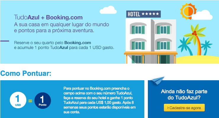 Booking e Azul