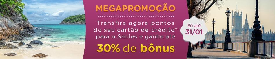 Smiles oferece bônus de até 30% nas transferências de cartões de crédito, mas…