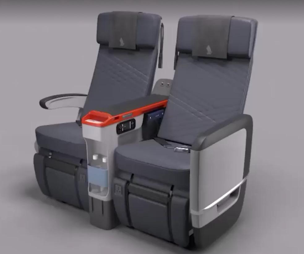 Singapore Airlines introduz classe econômica premium