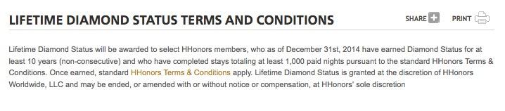 Lifetime Diamond