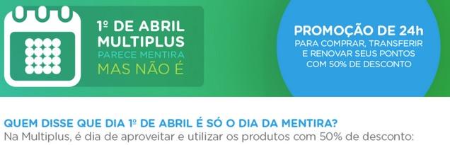 Multiplus vende 10 mil pontos por R$ 350 só hoje. Mas nem se fosse todo dia eu iria comprar.