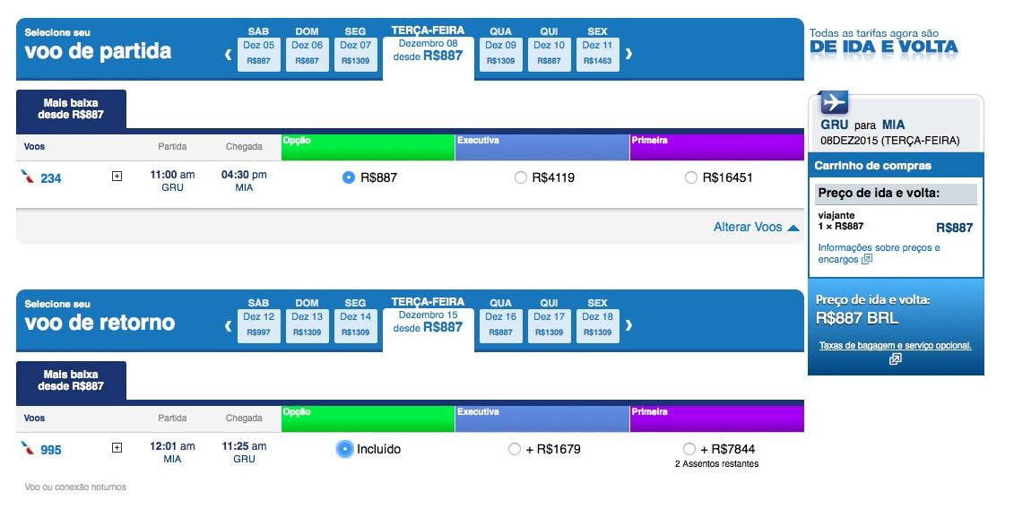 ALERTA DE TARIFAS! Passagens aéreas para os Estados Unidos por menos de R$ 900, *com TAXAS* inclusas, em voos diretos sem escalas, e voando numa aeronave de primeira qualidade
