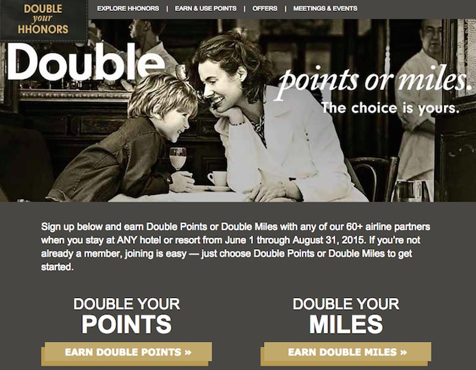 HH Double Points