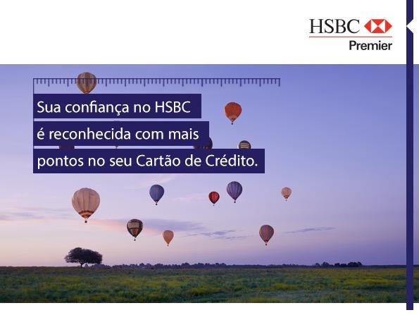 Exclusivo! HSBC dará mais pontos no cartão de crédito para quem tiver mais investimentos no banco