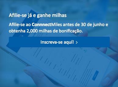 ConnectMiles, da Copa Airlines, oferece 2 mil milhas de bonificação a novos clientes