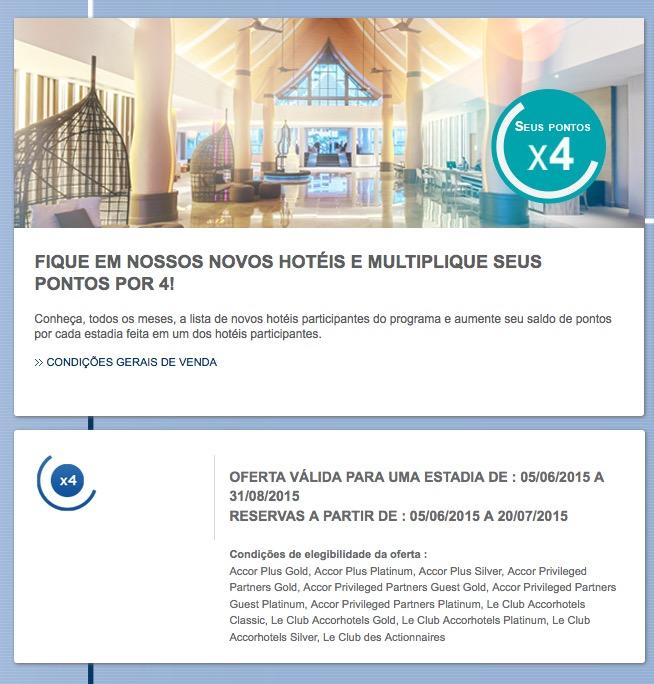Le Club oferece o quádruplo de pontos nos novos hotéis da rede, incluindo 3 em Pernambuco e 1 em Jundiaí (SP)
