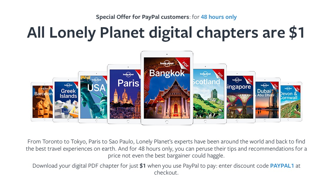 Lonely Planet USD 1