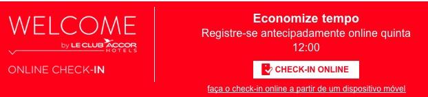 Checkin online nos hotéis da rede Accor: não, obrigado.