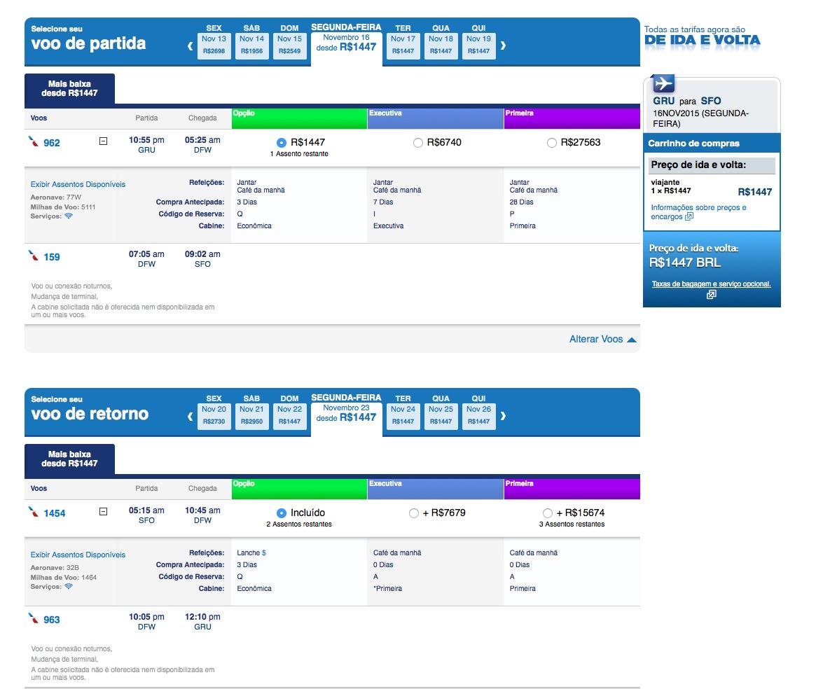 Dica para virar AAdvantage Platinum com menos de R$ 3k na promoção do Fast Track (exemplo)