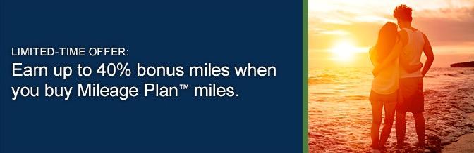 Último dia para comprar milhas com até 40% de bônus no Alaska Mileage Plan: R$ 5.346,25 por 56.000 milhas. Caríssimo.