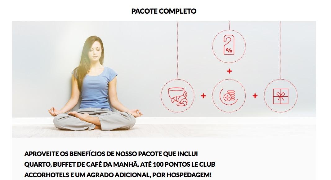 """[Notícia pés no chão] Ibis lança """"Pacote Completo"""": hospedagens com café da manhã, bônus de 100 pontos Le Club e um agrado adicional"""