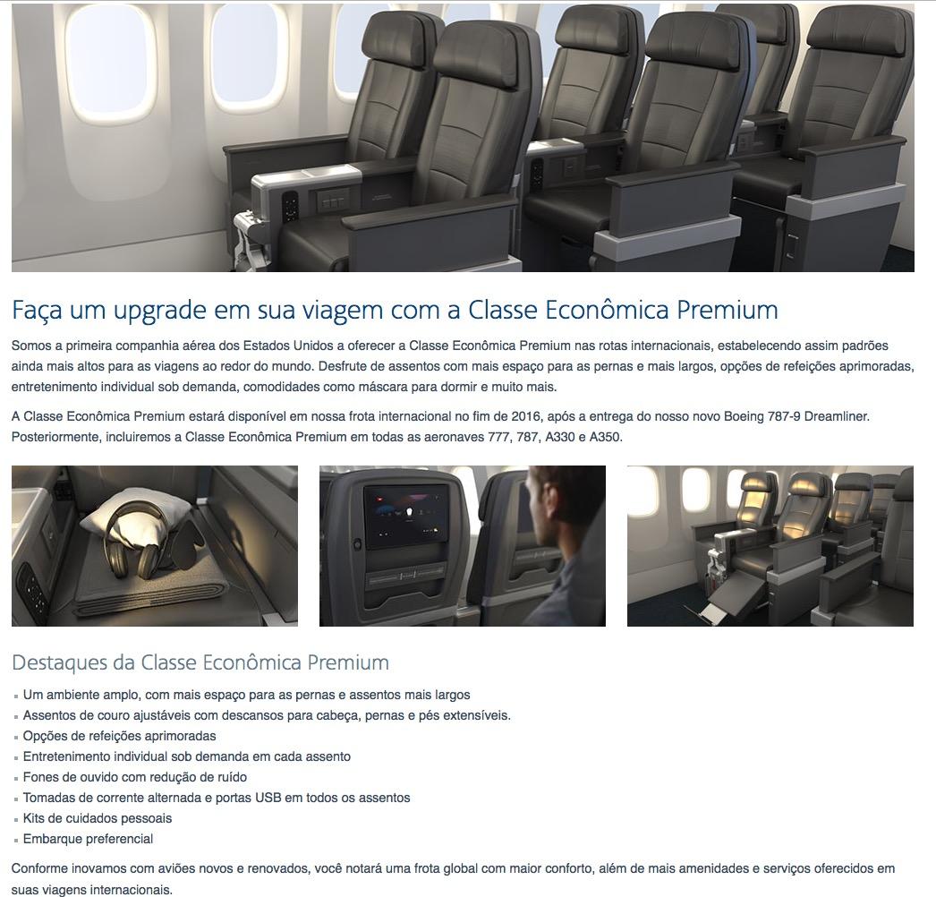 American Airlines introduz a Classe Econômica Premium: será que os upgrades serão da classe econômica para a classe econômica premium!!??? :-(