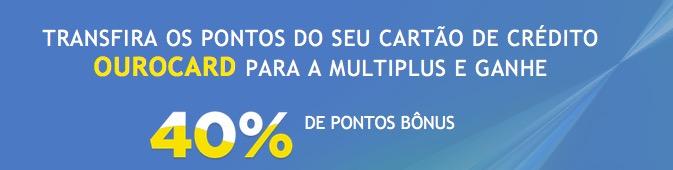 Multiplus oferece 40% de bônus nas transferências do BB