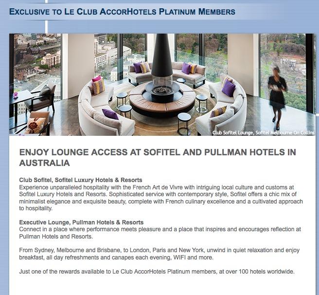 Milagre! Accor vai oferecer café da manhã gratuito para membros Le Club Platinum – ao menos nos hotéis Sofitel e Pullman da Austrália…