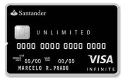 Santander volta a oferecer os cartões de crédito Unlimited para clientes que não são do segmento Private
