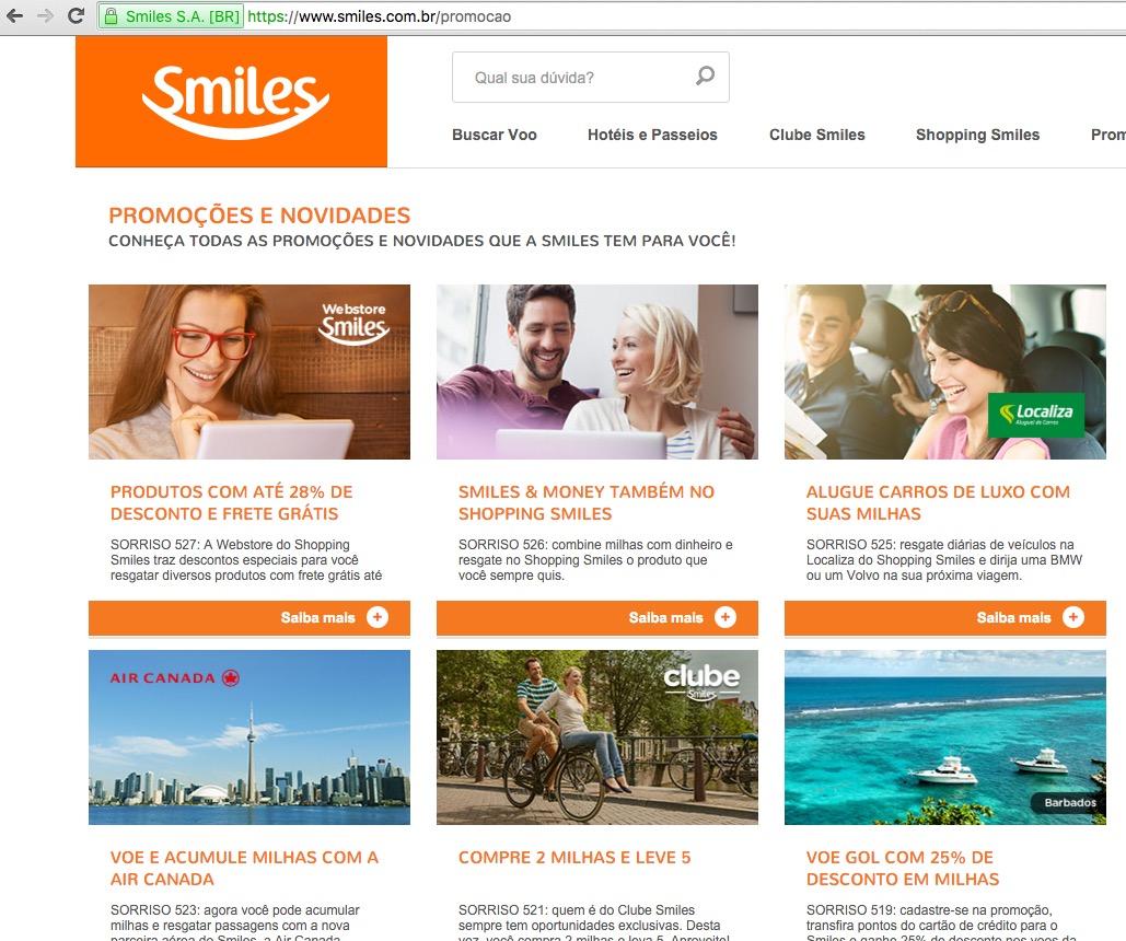 Smiles Promoções