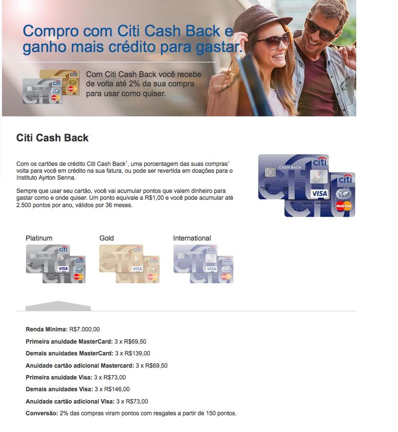 Cartões de crédito Cash Back: alguém usa?