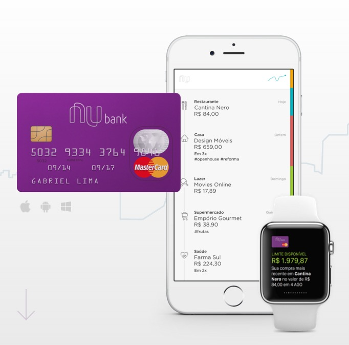 Nubank irá lançar programa de milhagem para seu cartão de crédito sem anuidade