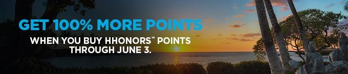 Hilton Honors lança promoção com bônus de 100% na compra de pontos