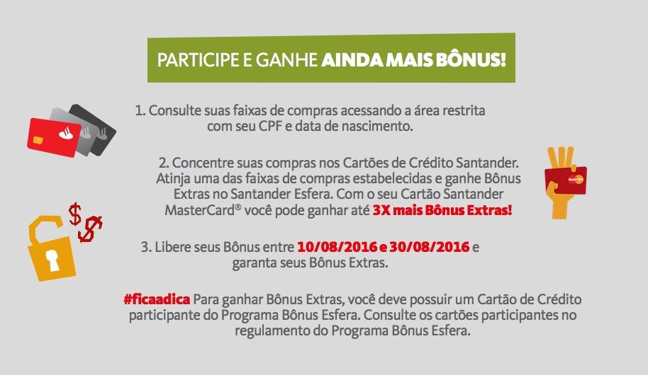 Santander Mais Bônus
