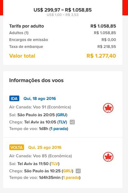 ALERTA DE TARIFAS! Passagens para Israel por R$ 1.277, *COM TAXAS INCLUÍDAS*!
