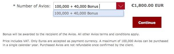 Iberia Plus também entra na onda das promoções de compra de pontos: 140k Avios por EUR 1.800