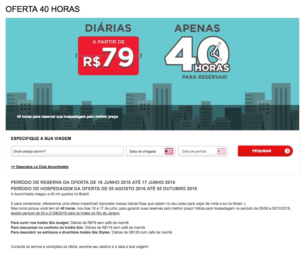 Accor 40 horas