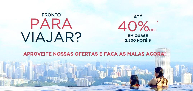 Rede Accor agrupa as promoções, com descontos de 10%, 25% e até 40%, de acordo com o hotel