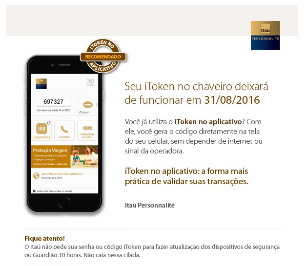 iToken Chaveiro IP