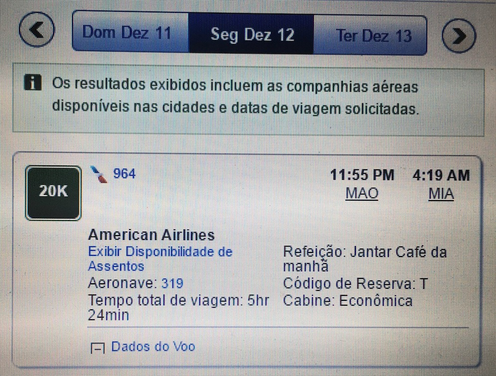 AA altera aeronave da rota Manaus-Miami e possível bug *nas taxas* nas passagens originadas dos EUA