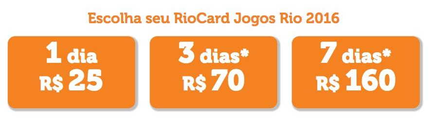 RioCard 2016