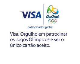 Qual cartão de crédito Visa utilizar nos Jogos Olímpicos Rio 2016?