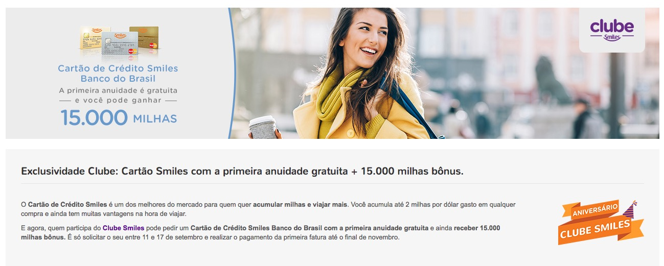 Mais uma barganha: comprando 15.000 milhas Smiles por R$ 214!!???
