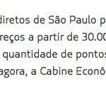 Explorando as oportunidades do LATAM Fidelidade #2: Brasil para África do Sul por 25 mil pontos na econômica, 65 mil pontos na executiva, e 95 mil pontos na primeira classe, MAS SÓ ATÉ O DIA 09/10/2016!