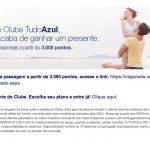 Tudo Azul faz promoção para membros do Clube: descontos de 25% em trechos domésticos, resgates a partir de 3.000 pontos