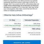Turbinando o ganho de milhas AAdvantage: bonificações Avis e Budget (até 5 mil milhas extras) e Magazines.com (40 milhas por dólar)