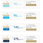 Clube Tudo Azul com ofertas variadas para seus 4 diferentes planos