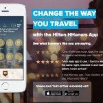 Ganhe o triplo de pontos Hilton Honors ao fazer as reservas pelo app!