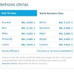 ALERTA DE TARIFAS! KLM volta a entrar na briga das promoções em classe executiva. Voos para a primavera europeia a partir de R$ 5.051,22, *COM TAXAS INCLUÍDAS!*