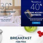 Nova promoção global Super Vendas da Accor oferece descontos de 30% + café da manhã! E o melhor: não é promo fake! rsrsrs