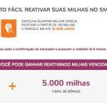 Mix Smiles: reativação de milhas com 100% de bônus, resgates Copa Airlines por 20 mil milhas (econômica) e 32 mil milhas (executiva)